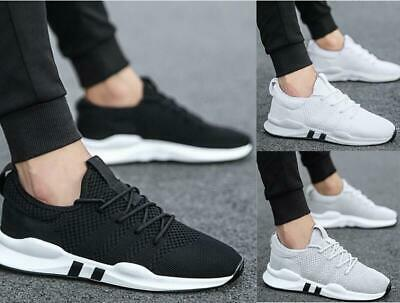 Mens Casual Running Breathable Shoes Sports Walking Athletic Sneakers breathable