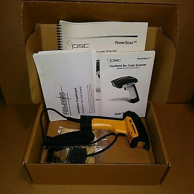 Datalogic PowerScan PSSR-1000 Handheld Bar Code Scanner - New in Box