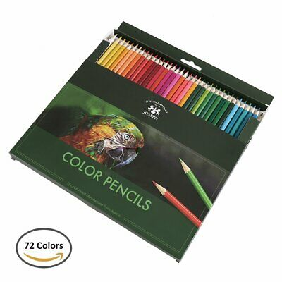 72pcs Artists Pro Drawing Colouring Pencils Set Kids Students Staedtler Gift