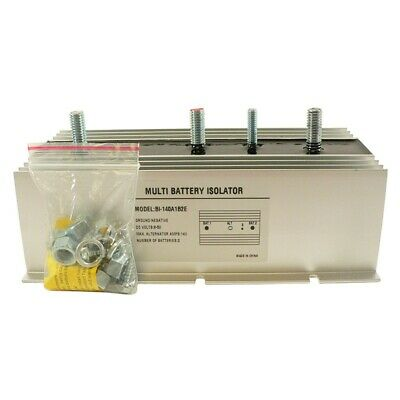 NEW MULTI 2 BATTERY ISOLATOR 140 AMP with Exciter EMS, MARINE, STEREO BSL0012