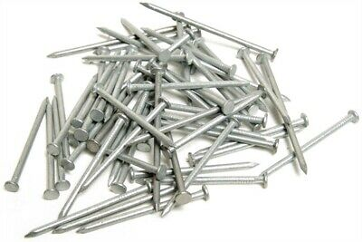 Galvanised Round Wire Nails All Sizes from 25mm to 150mm Long Prepacked 500g-5Kg