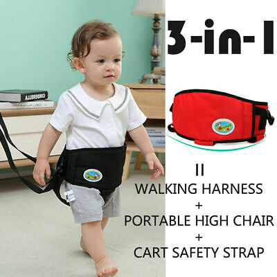 UK stock Baby Toddler Walking Assistant Learning Safety Reins Harness Walker