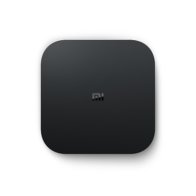 Xiaomi Mi TV Box S 4K Ultra HD Media Player Google Assistent schwarz