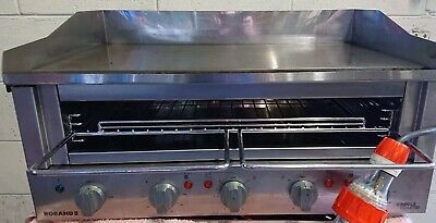 Commercial Fish &Chips Hamburger ROBAND GT700 GRIDDLE GRILL & TOASTER Salamander