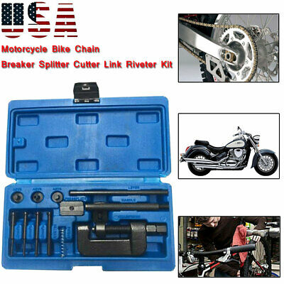 13x Chain Breaker Riveting Tool Cutter OHV Cam Drive Motorcycle Link Separator