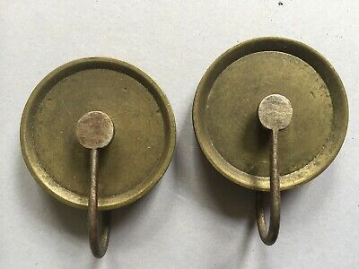 A Pair Of 8 Day Longcase Clock Weight Pulleys C.a.1830 In Good Condition (No.2)
