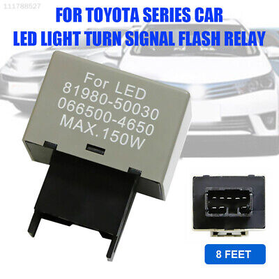 BD98 LED Assy Relay 8-Pin Fix Signal Flasher Assy Relay Flasher Turn Signal