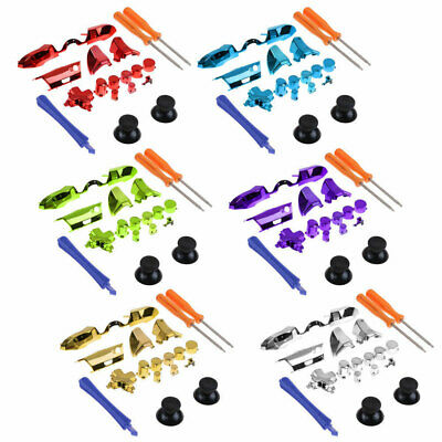 Controller Replacement Set Buttons Plating Parts 3.5mm Jack for XBOX One Elite