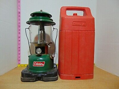 1973 Coleman Lantern Model 220H With Carrying Case