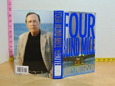 Four Blind Mice by James Patterson (2002, Hardcover) Ex-Library