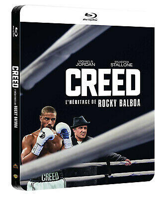 """Creed Blu-ray """"Edition Steelbook"""" Neuf sous blister"""