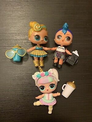 luxe lol doll Bundle With punk Boi And Unicorn Colour Changer