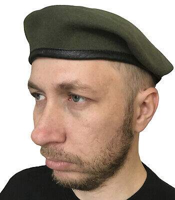 Olive military beret (tan) us army special forces Rangers