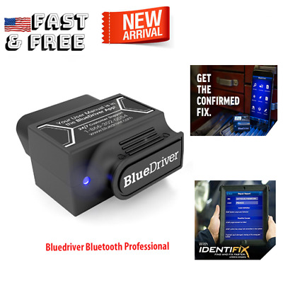 Bluedriver Bluetooth Professional Obdii Scan Tool Used For iPhone & Android iPad