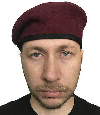 Burgundy beret paratroopers of the Royal air force of Great Britain Hobson & Son