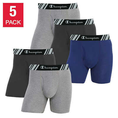 SALE! NEW! Champion Men's Boxer Brief - 5-pack - VARIETY OF SIZE AND COLOR
