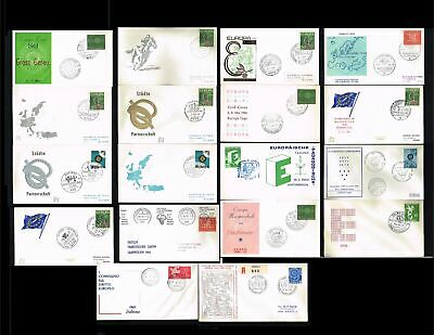 [JM019] 1959-1967 - European Thought Cover Miscellaneous countries - European ev