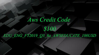 Aws Credit $40 Aws Credits RDS Aws PromoCode EC2 Aws Codes SQS New Event