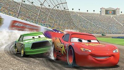 Lightning Mcqueen Cars Wallpaper Woven Self Adhesive Wall