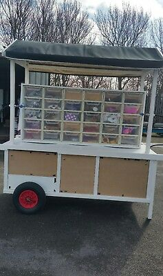 mobile balloon cart business for sale events fairground fundraising festivals