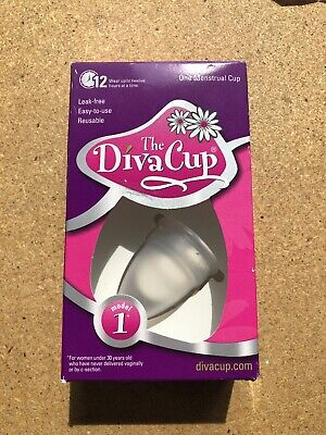 The Diva Cup Menstrual Cup Model 1