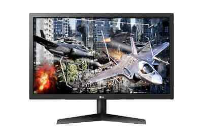 """LG 24"""" 16:9 FHD Gaming Monitor with 144hz and FreeSync (24GL600F-B)"""