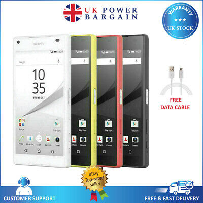 SONY Xperia Z5 Compact E5823 Factory Unlocked Gray White Yellow Red Mobile Phone