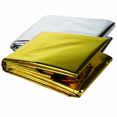 New 1PC Emergency First Aid Blanket Outdoor Rescue Curtain Living Tent Sunshield