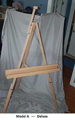 Plans for Artist's Easels -- Studio Grade
