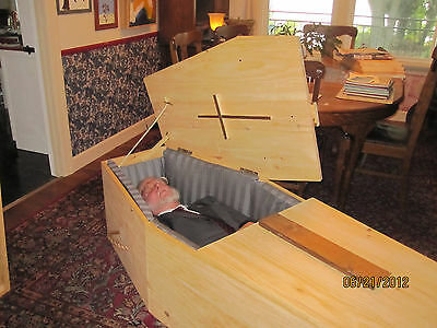 Old Pine Box Casket, Coffin, Bookcase: Build it yourself and Save  (PLANS ONLY)