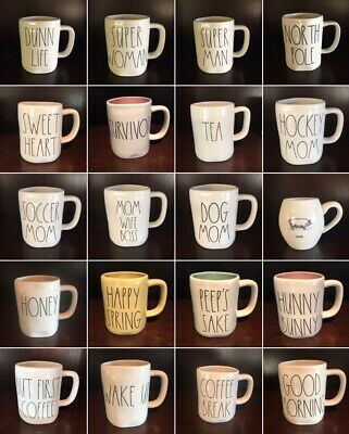 "Rae Dunn ""MUGS"" Best Selection *You Choose & Save w/Combined Shipping     summer"