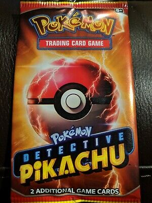Pokemon Detective Pikachu Movie Trading Card Pack - AMC promo ***20 Pack****