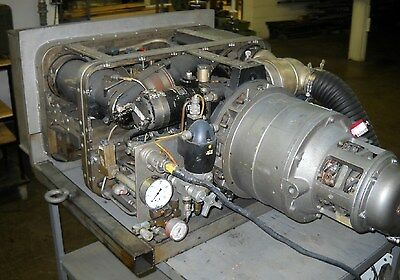 AIRESEARCH AI RESEARCH Military Gas Turbine Jet Engine GTP