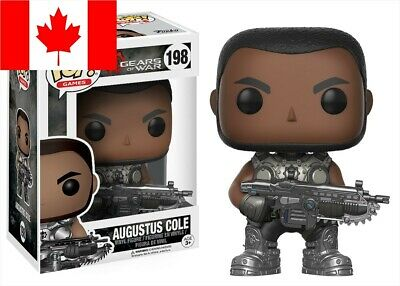 Funko Pop! Gears of War - Augustus Cole #198 ~ TEMPORARILY OUT OF STOCK