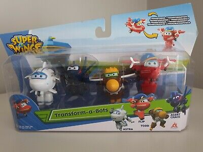 Paw Patrol Mini Super Wings Pop N Transform Preschool Mini Figures EU720500 Gift