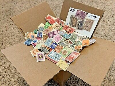 100+ Countries Off Paper Ww Stamps In Box Lot. Thousands Of Worldwide Stamps! #2