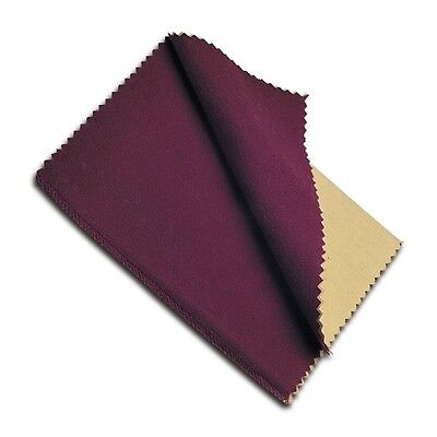 Jewelers Rouge Polishing Cloth Cleans Gold Silver Brass Bronze USA Made New