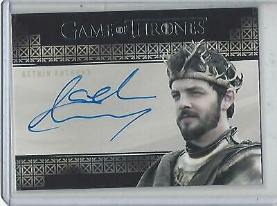 Game of Thrones InfleXions Gethin Anthony (Valyrian) autograph