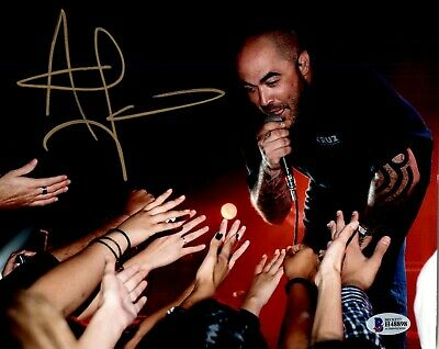 Aaron Lewis Signed Autographed 8x10 Photo Beckett Staind 2