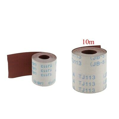 10 M/bag Abrasive Cloth Roll 320/600 Grits Emery Cloth Polish Sanding Metal