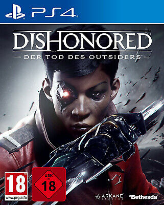 PS4 Dishonored Der Tod des Outsiders UNCUT NEU&OVP Playstation 4