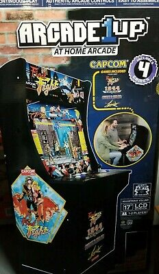 Arcade 1Up  Final Fight video LCD game  Machine 4 in1 Factory Sealed NIB Rare