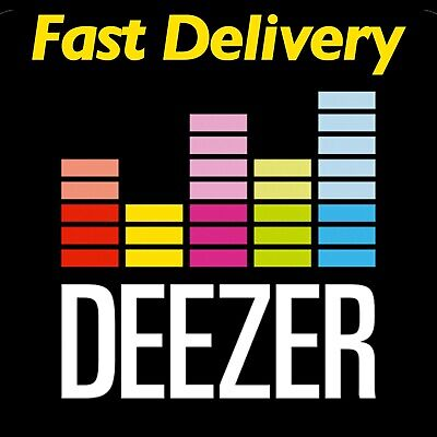 🔥🔥⭐️⭐️Deezer 1 Month Personal Account Premium Subscription + Fast Delivery
