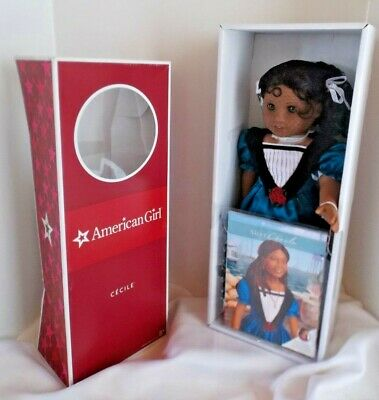 American Girl Doll Cecile Historical Beforever Retired New in Box! New Orleans