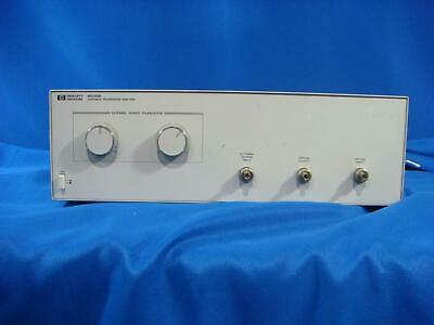 Agilent Keysight HP 8509B Lightwave Polarization Analyzer