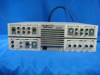 Audio Precision System One G Version Audio Analyzer