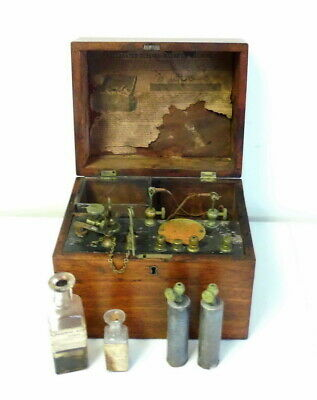 Antique Jerome Kidders Doctors Quackery Quack Electric Shock Machine ~ Free Ship