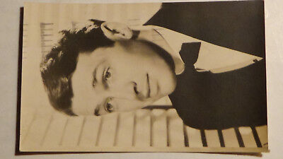 Rppc Postcard 1938 PROMO  JIMMY STEWART FAMOUS ACTOR MOVIE STAR AUTOGRAPHED