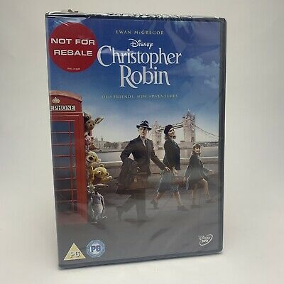 Christopher Robin DVD - Walt Disney - New & Sealed
