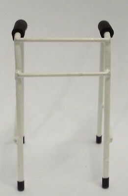 Dollhouse miniature handcrafted Medical IV Stand intravenous Metal 1//12th scale